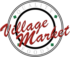 A theme logo of Village Market